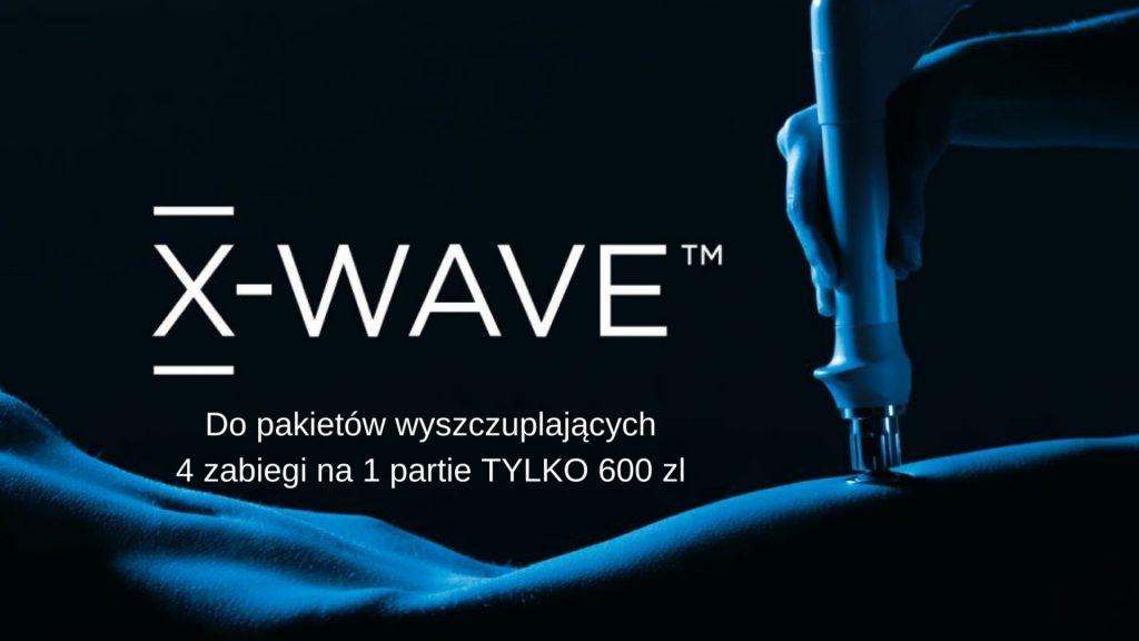 Fala uderzeniowa X-WAVE - promocja